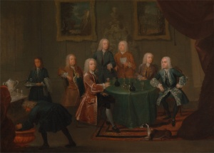 Gawen_Hamilton_-_The_Brothers_Clarke_with_Other_Gentlemen_Taking_Wine_c1730